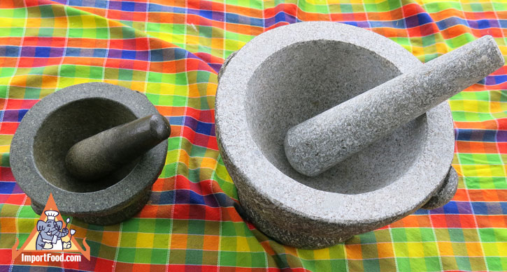 extra large granite mortar and pestle
