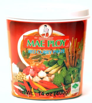 Thai Red Curry Paste, Available Online at ImportFood.com