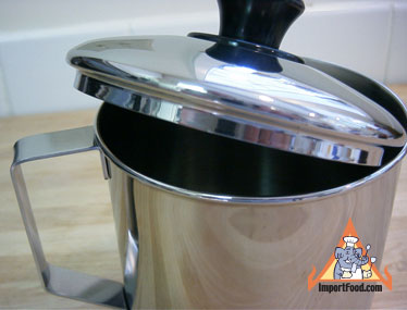 Thai mug with lid
