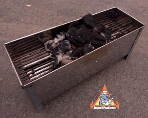 satay grill, thailand