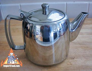 teapot, stainless, thailand