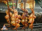 Charcoal-Barbecued Chicken Wings