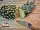 Peel and Slice Pineapple