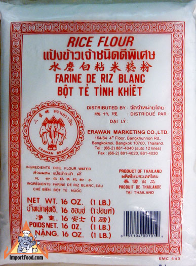 Asian rice flour suppliers