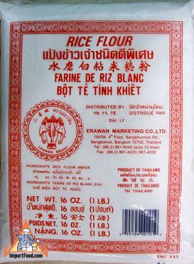 rice flour, thailand