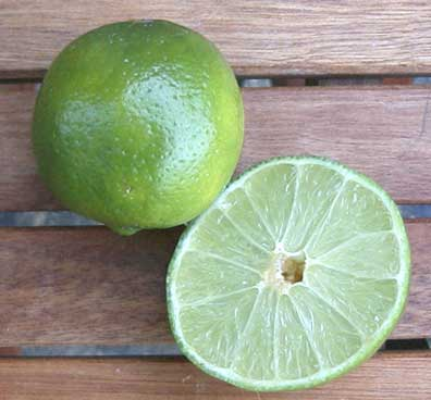 Thai lime, Fresh lime juice