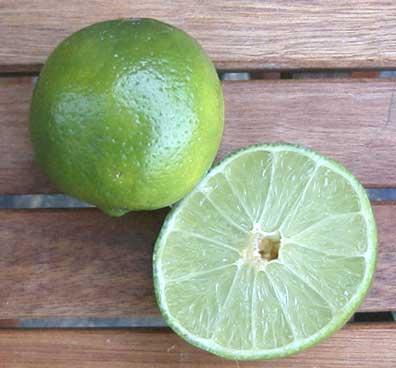Thai lime, Fresh lime juice