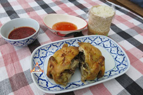 Thai Barbecue Chicken, 'Gai Yang' - Serve with sticky rice and enjoy!