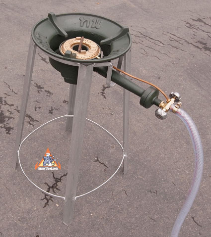 thai gas burner with stand