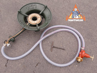 high btu gas burner