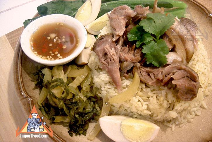 Pork Leg On Rice Khao Kha Moo Importfood Com