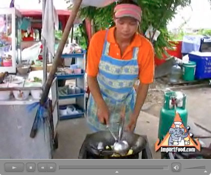 thai street vendor video