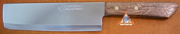 thai meat knife, kiwi