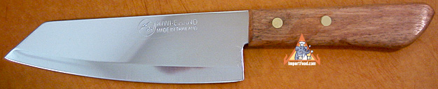 thai sharp meat knife, kiwi