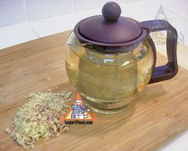 how to make lemongrass tea from fresh lemongrass