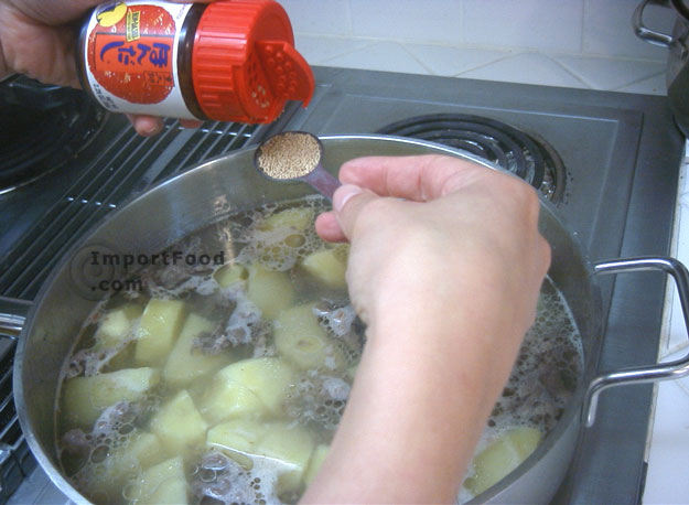 Nikujaga / Japanese Beef and Potato Stew / ImportFood.com recipe