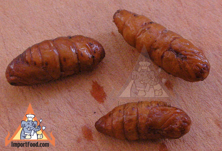 Thai Insects - Popular Snack Food in Thailand - Non Mai