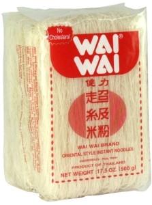 wai wai, rice vermicelli, sen mee