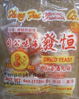 dried yeast balls
