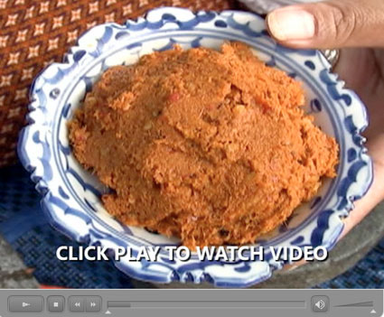 How Thai Curry Paste is Made: Our Step-by-Step Photo/Video Recipe - Video III: Panang Curry Paste