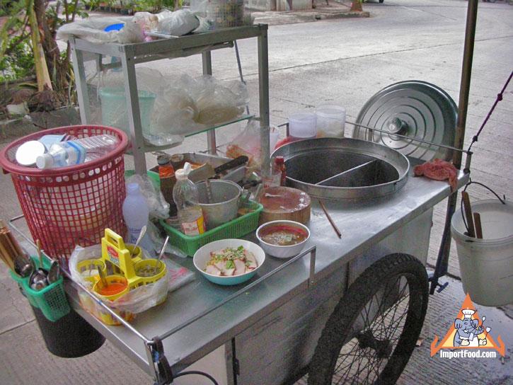 Thai Street Vendor Video Pok Pok Noodle Cart