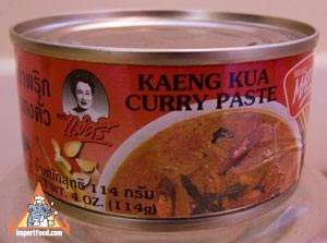 Maesri, kaeng kua curry, 4 oz can