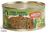 Maesri, prik khing curry, 4 oz can