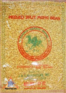 Peeled split mungbean, 14 oz