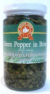 Young green peppercorn in brine, 16 oz