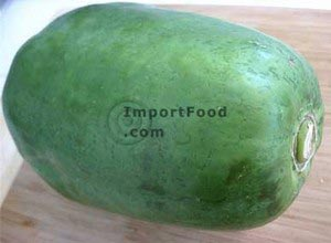Fresh green papaya, 3-4 lb
