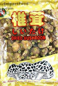 Dried shiitake mushrooms, 5 oz