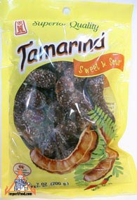 All natural tamarind candy, 7 oz