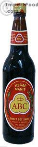 Kecap Manis (sweet soy sauce) 21 oz bottle