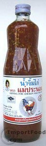 Dipping sauce, Mae Pranom brand, 14 oz bottle