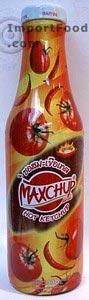 Thai ketchup, Maxchup brand, 12 oz bottle