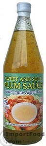Sweet and Sour Plum Sauce, 24 oz