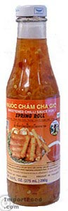 Sweet Chili Sauce for Spring Rolls, 13.2 oz bottle