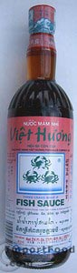 Fish sauce, Three Crabs brand 24 oz