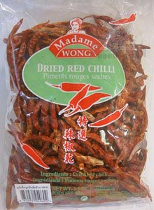 Thai whole dried chile, 3.5 oz