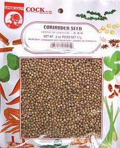 Coriander seed, 3.5 oz