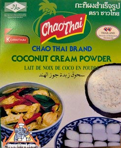 Coconut cream powder, 2 oz box