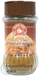 Thai curry powder, Hand Brand, 1.75 oz