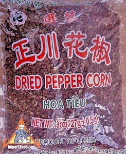 Szechuan Peppercorn, 4 oz