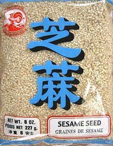 White sesame seeds, 8 oz