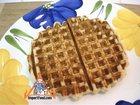 Cardamom Sour-Cream Waffles