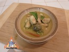 Green Curry with Fresh Chile, Chicken, Eggplant & Kaffir Lime