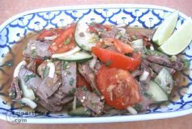 Thai Beef Salad, 'Yum Nuea' - Beef Salad, 'Yum Nuea'