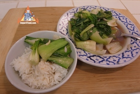 Simple Stir-Fried Bok Choy with Oyster Sauce - Simple Stir-Fried Bok Choy with Oyster Sauce