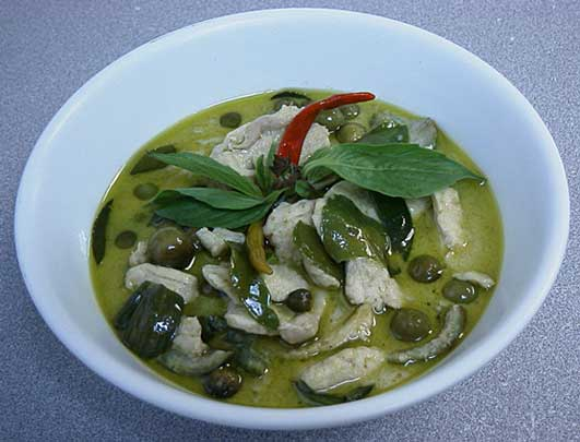 Thai Green Curry with Chicken & Eggplant, 'Gaeng Khiao Wan Gai ...