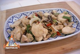 Ginger Chicken, 'Gai Pad Khing' - Ginger Chicken, 'Gai Pad Khing'
